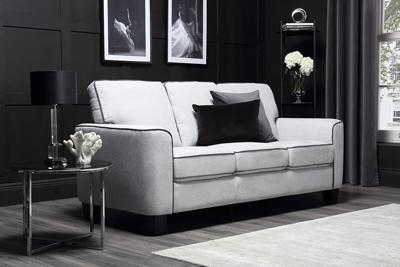 Balham dove grey 3 seater sofa