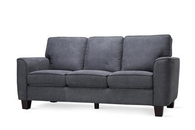 Balham slate grey 3 seater