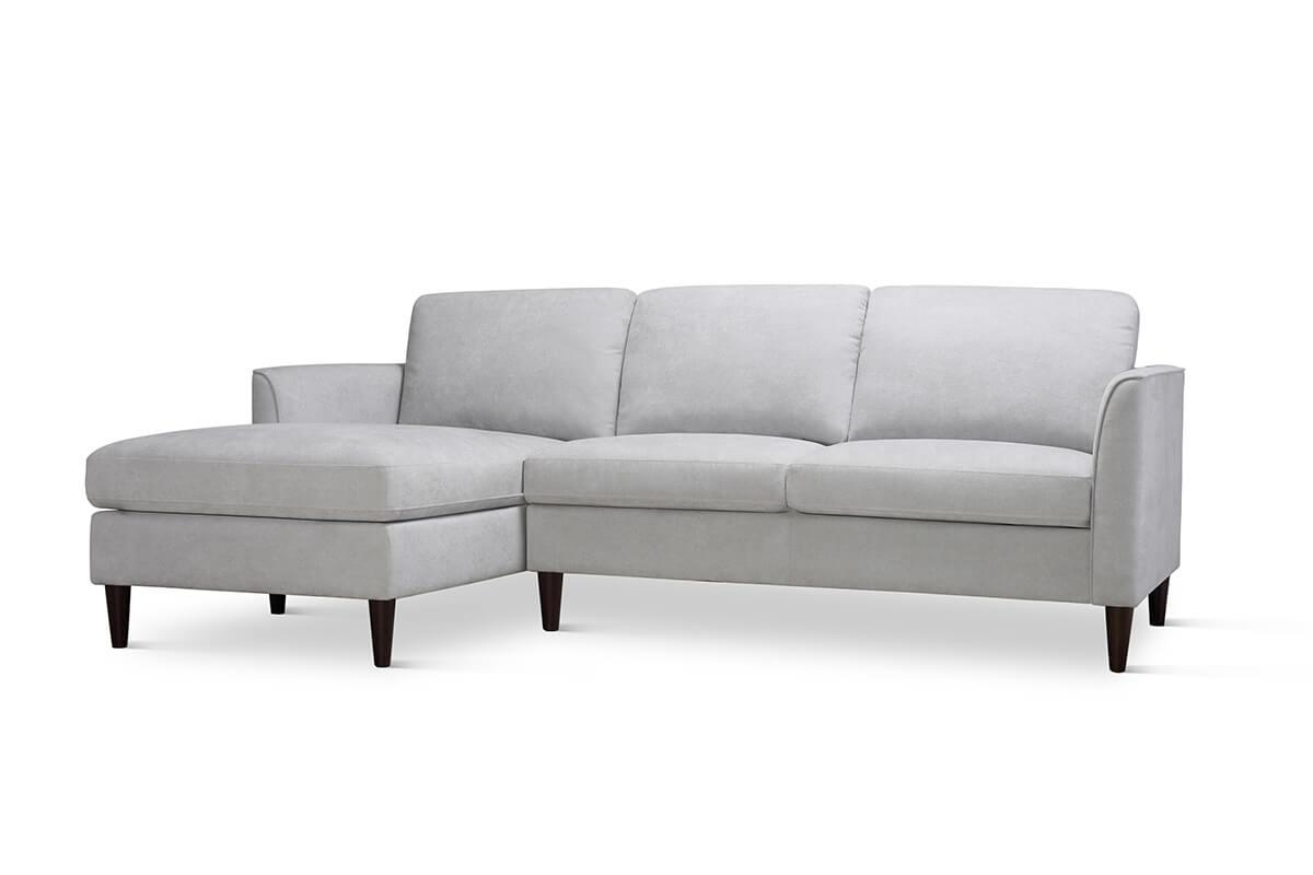 Hayward Dove Grey L Shaped Sofa