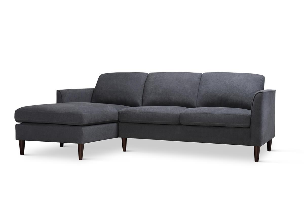 Hayward Slate Grey L Shaped Sofa