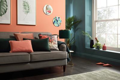 Pembroke grey velvet lifestyle