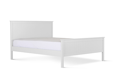 Dorset Bed White