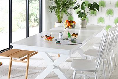 Grange White Dining Table
