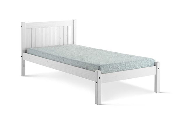 Rio White Washed Bed