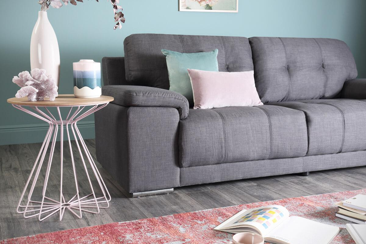 Kansas slate 3 seater sofa