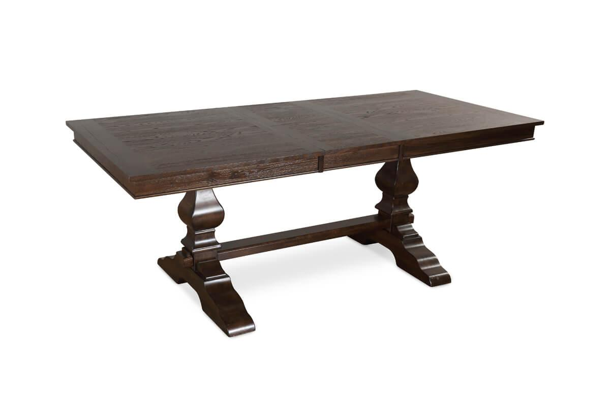Cavendish dark wood extending table