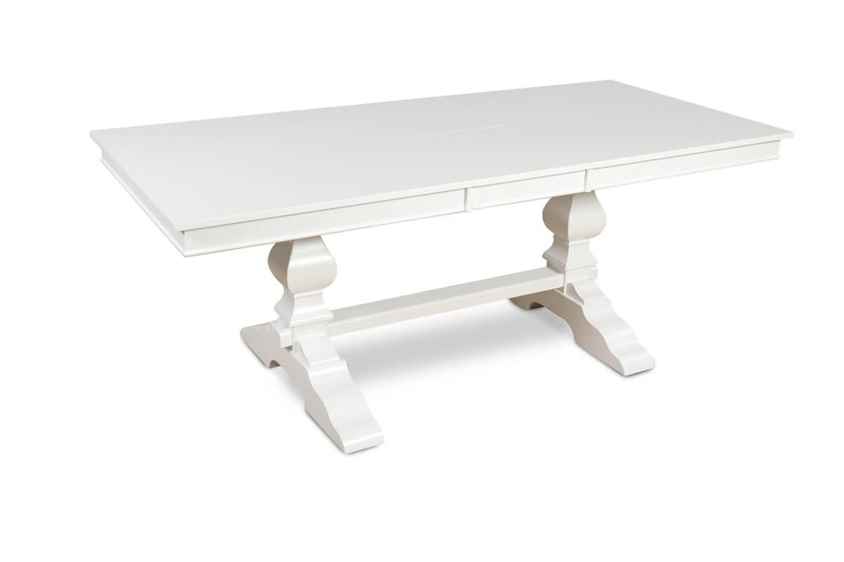 Cavendish white extending table
