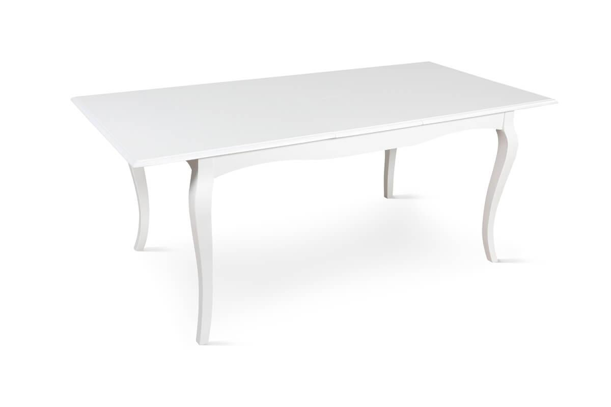 Clarendon white extending table