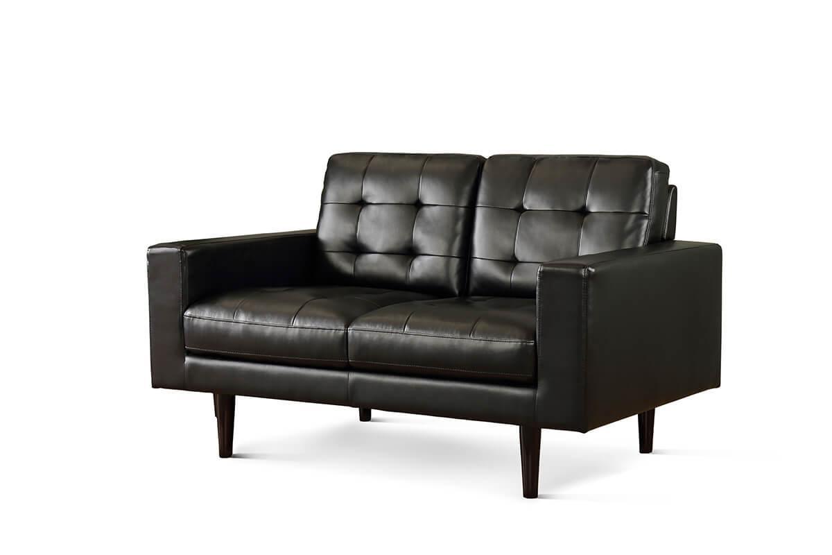 Carlton black 2-seater