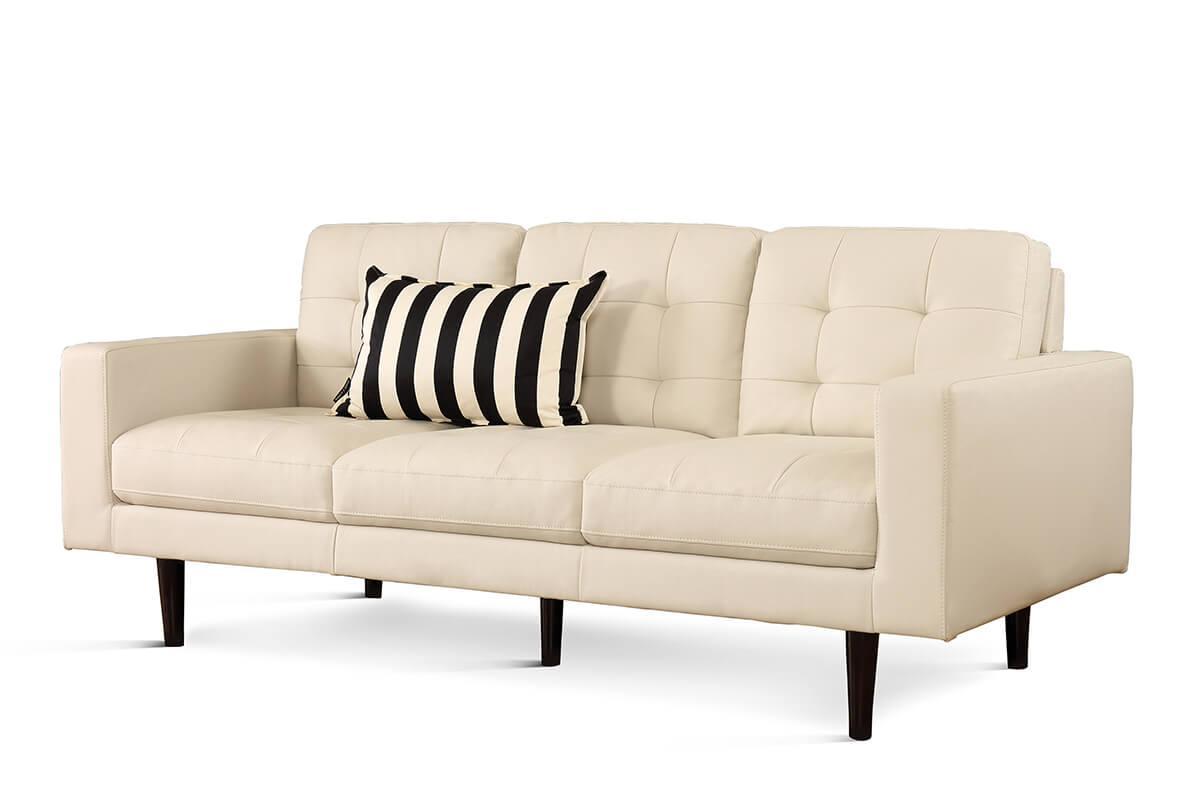 Carlton ivory 3-seater