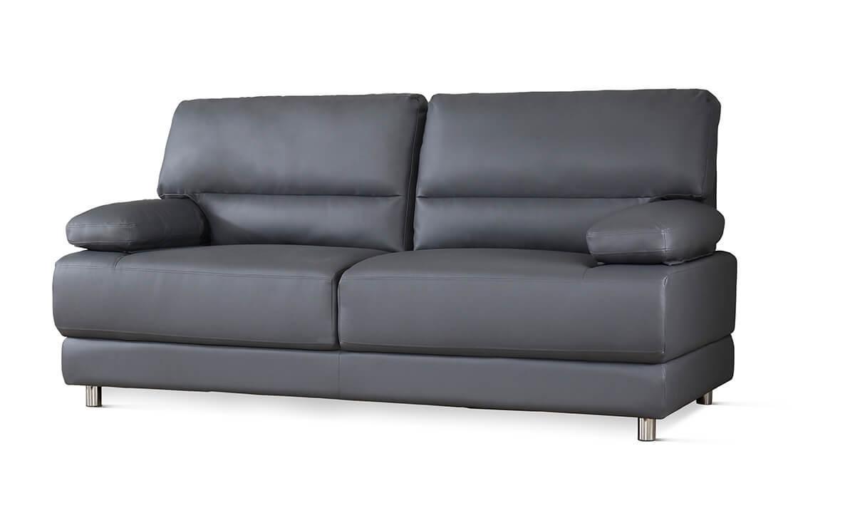 Rocco grey three seater sofa