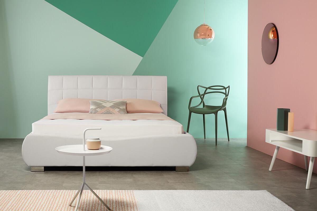 Dorado white bed landscape