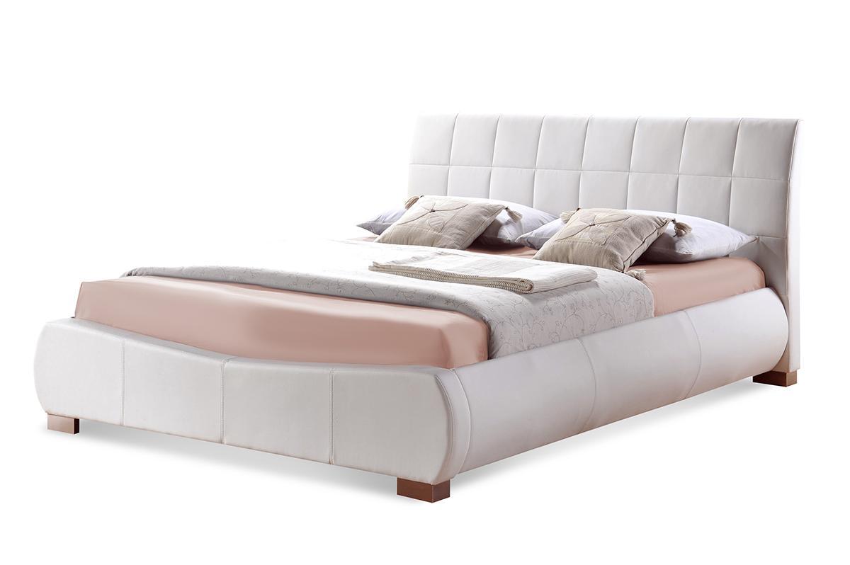 Dorado white bed