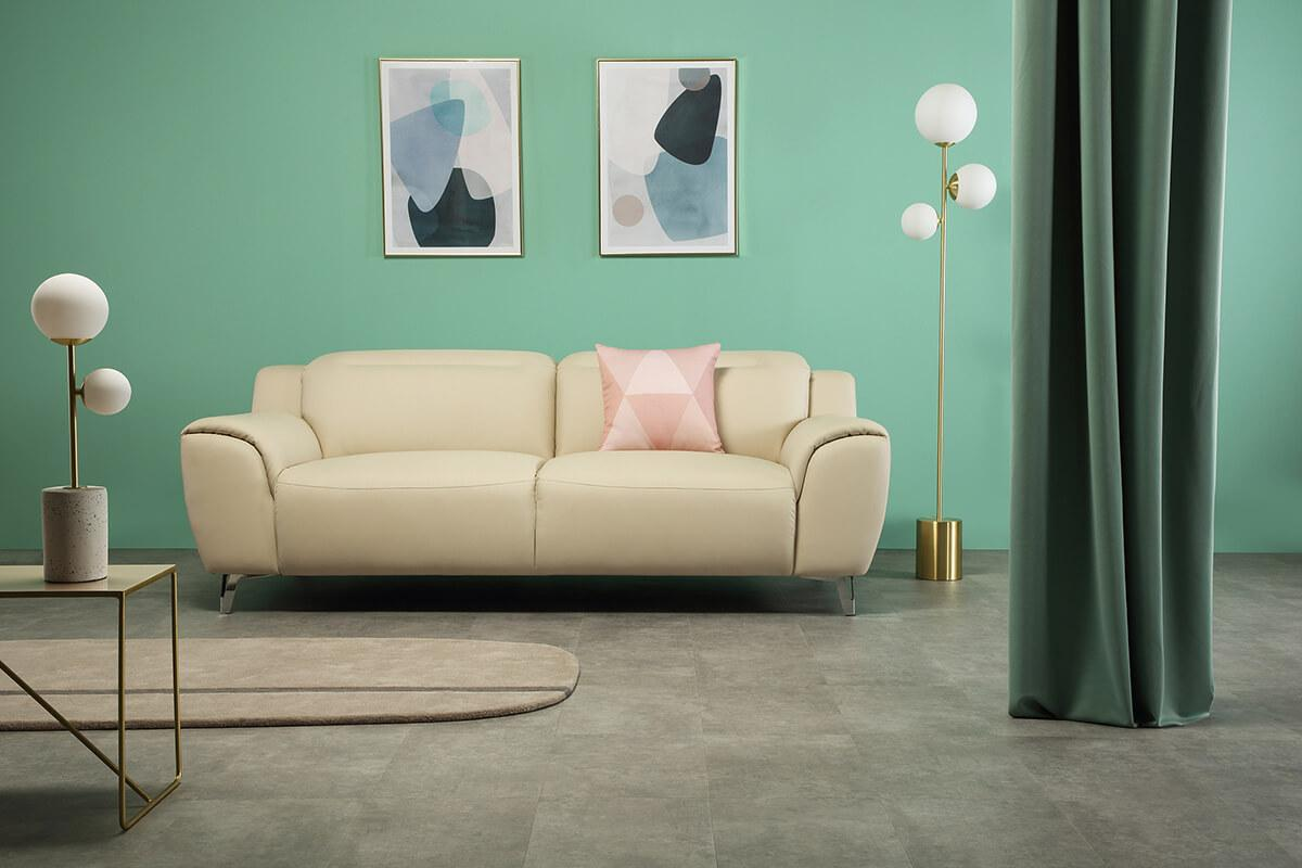 Finley ivory 3 seater main