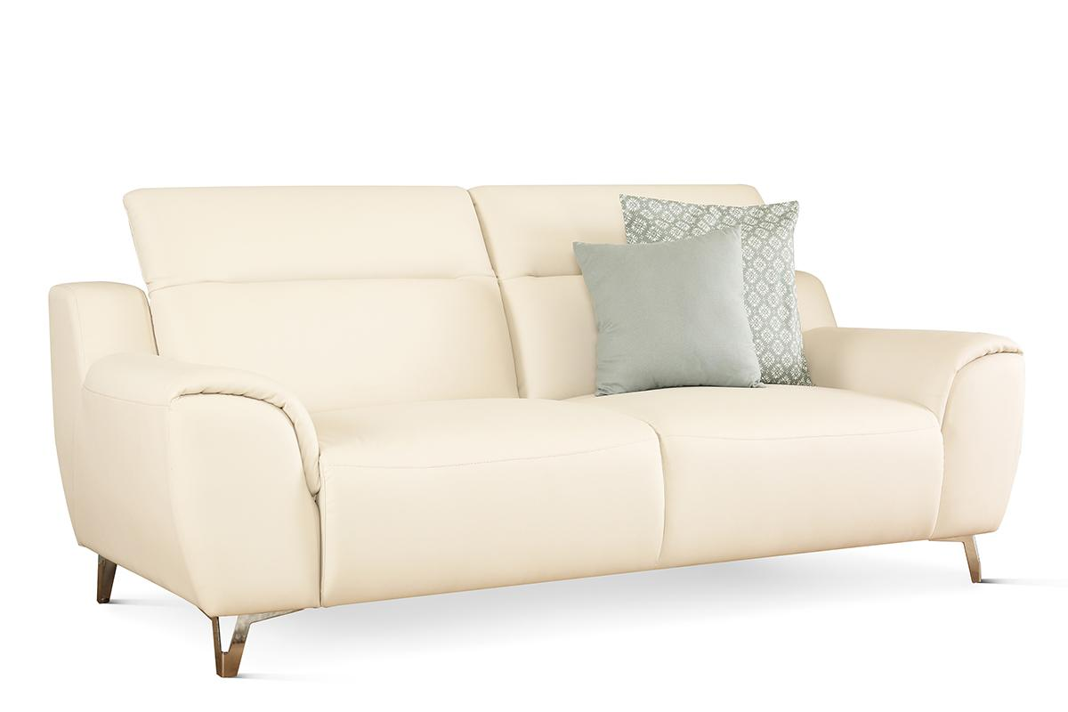 Finley ivory 3 seater