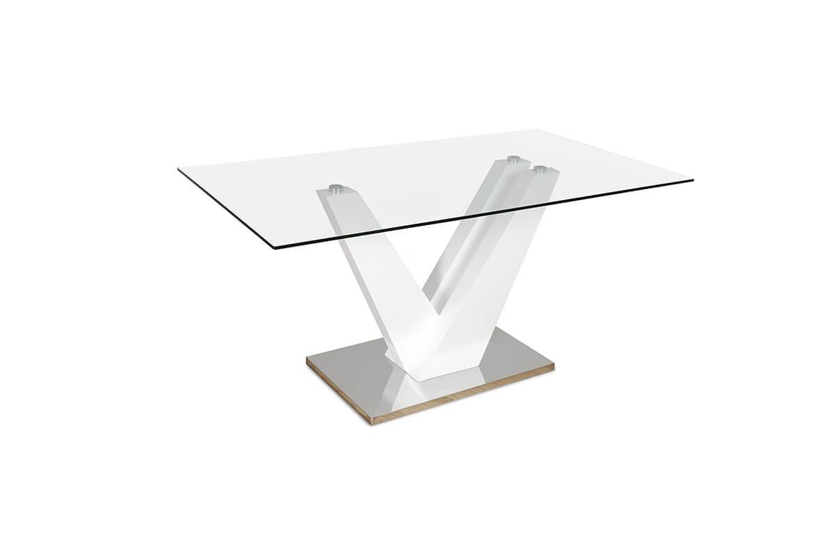 Newton white table