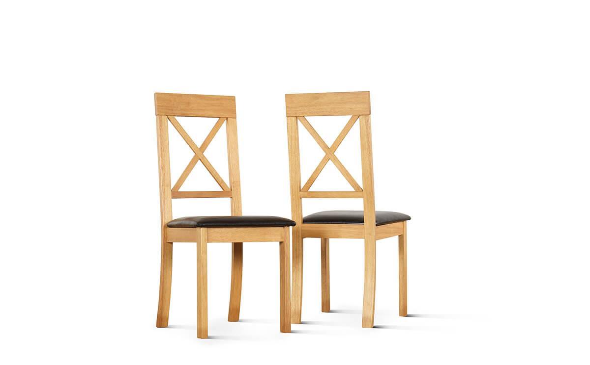 Kendal chairs black seatpad
