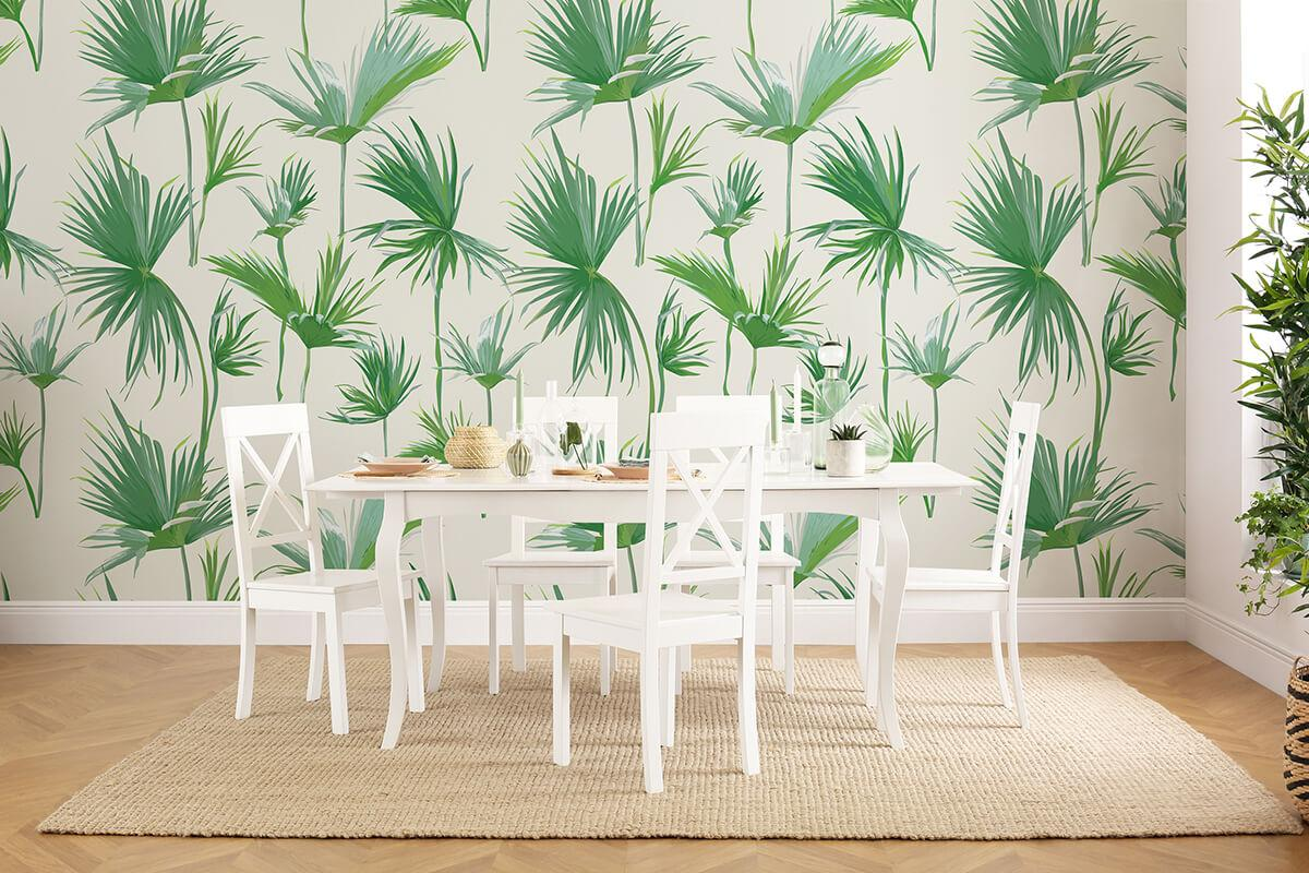 Clarendon white wood table Kendal chair