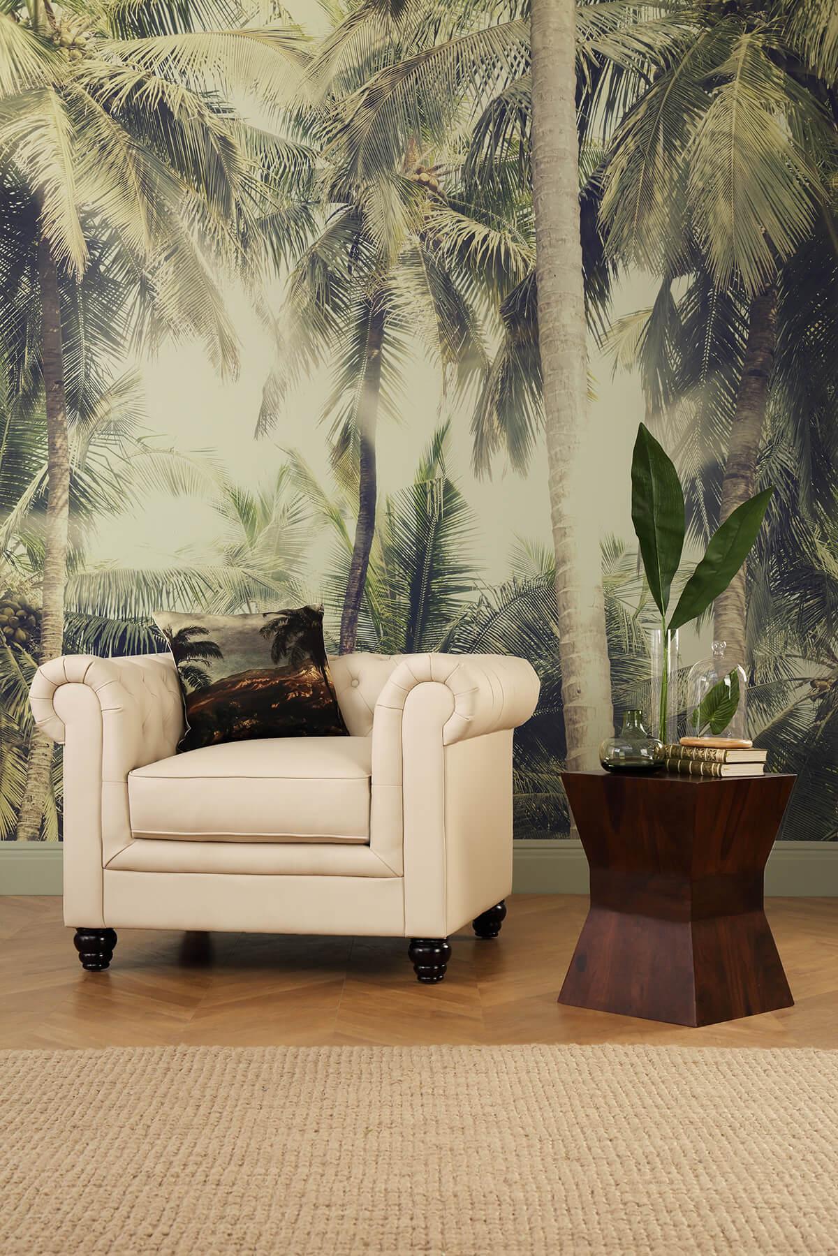 Hampton ivory armchair