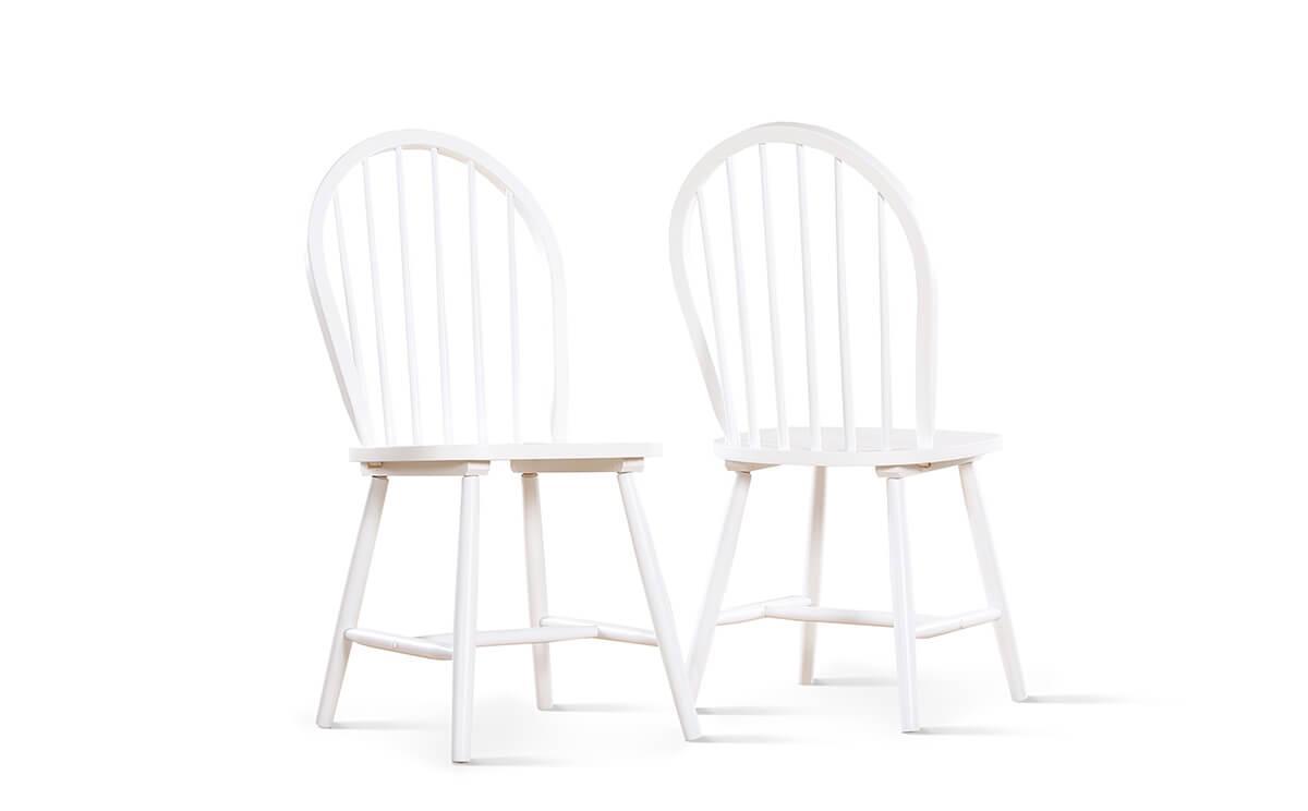Windsor chair white
