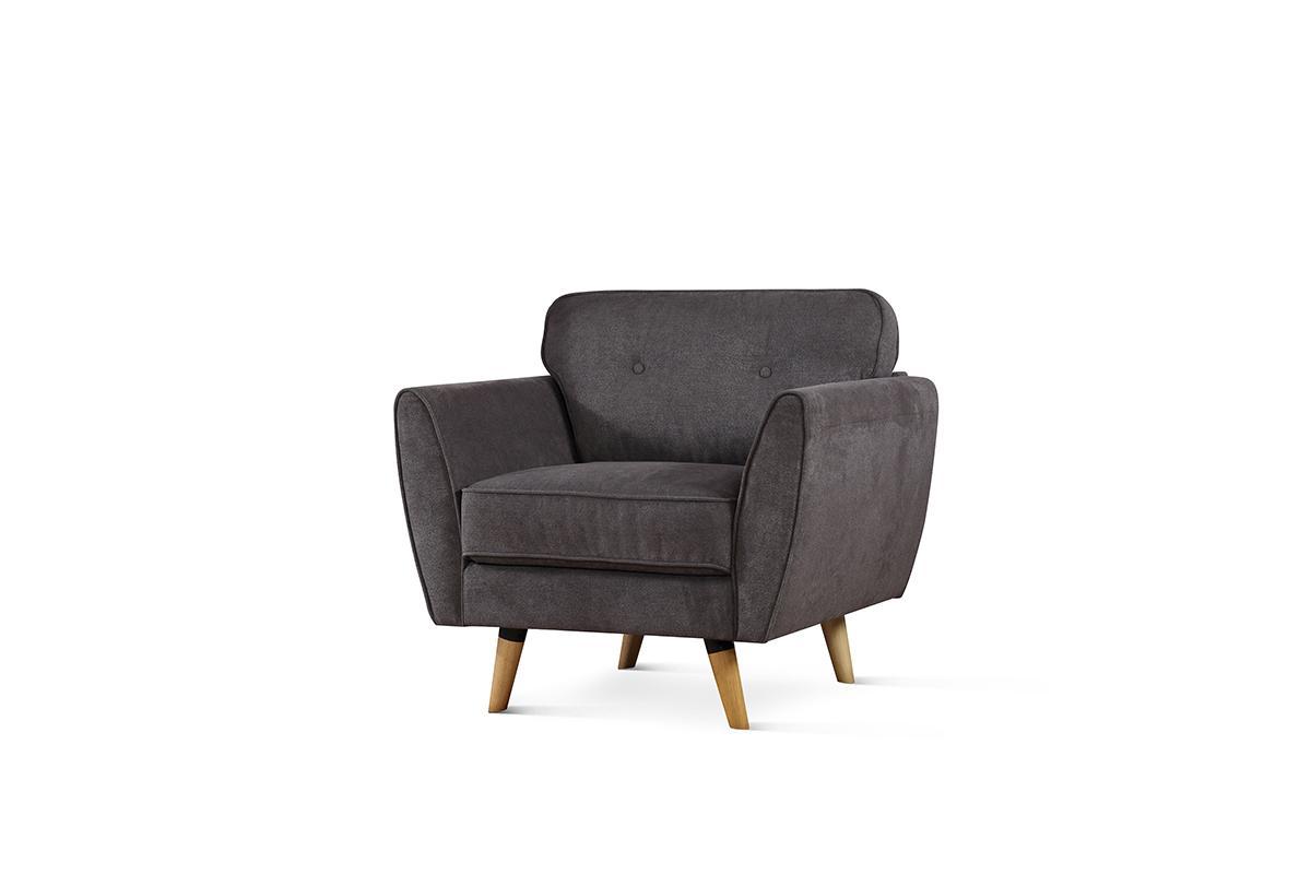 Harlow grey armchair