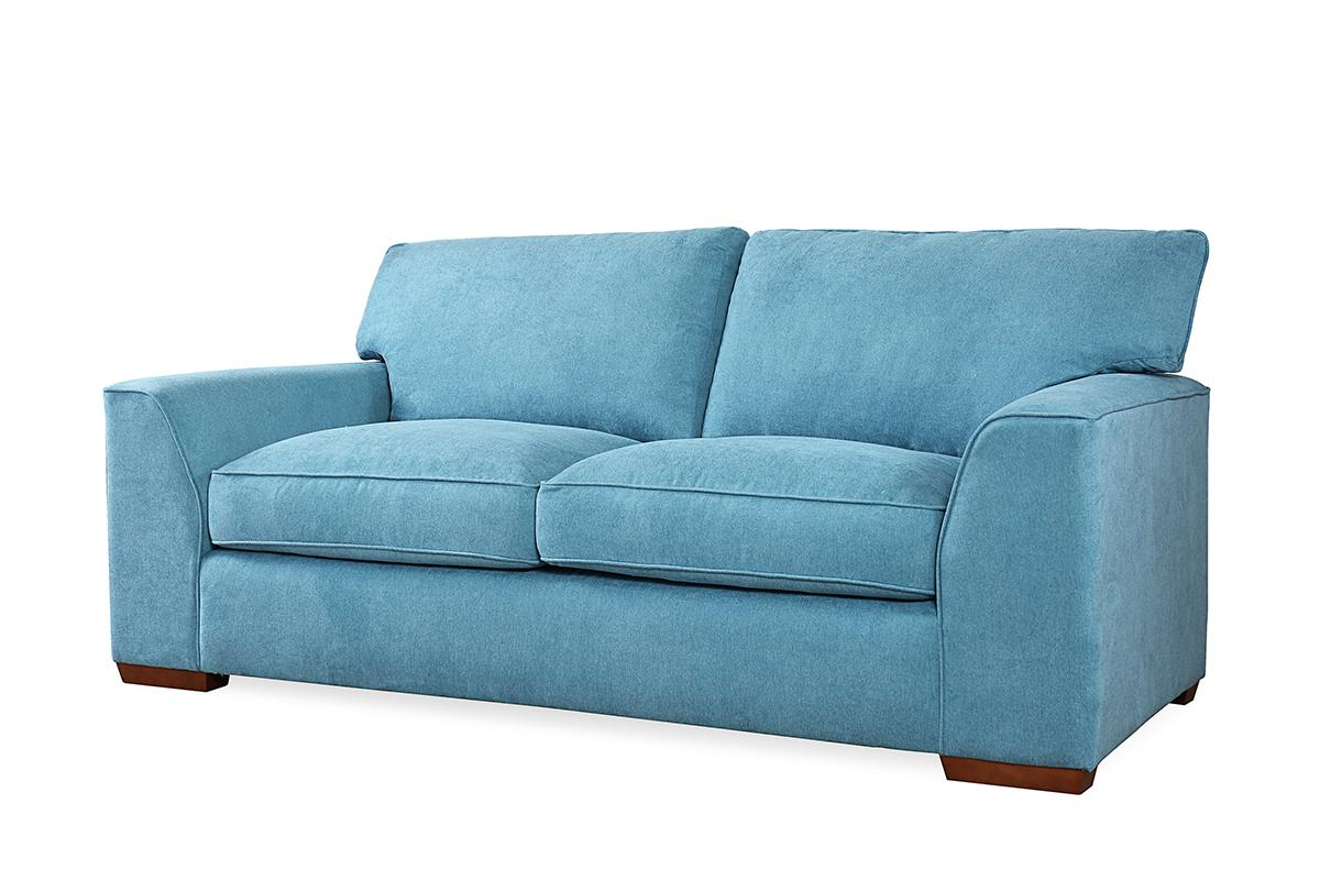 Newark teal 3 seater