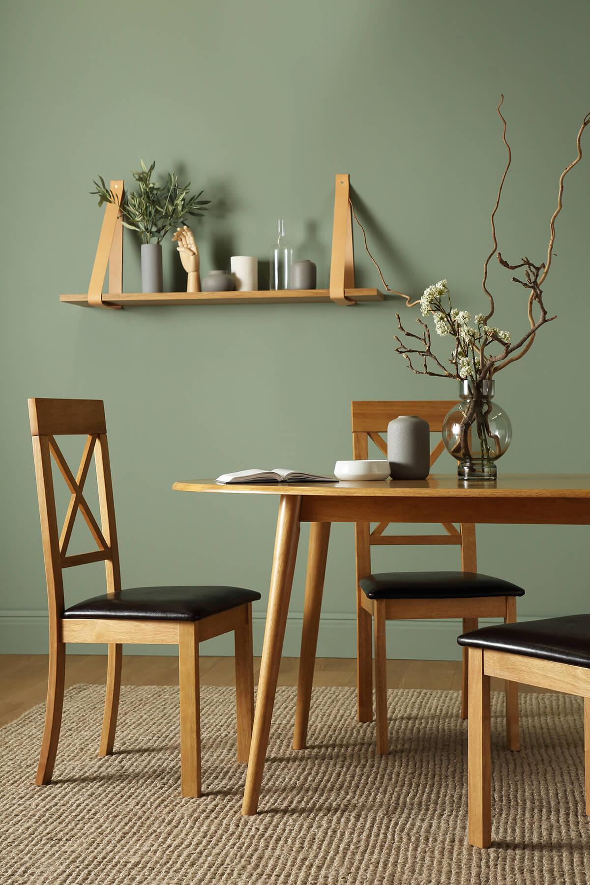 Suffolk oak table Kendal oak chairs portrait