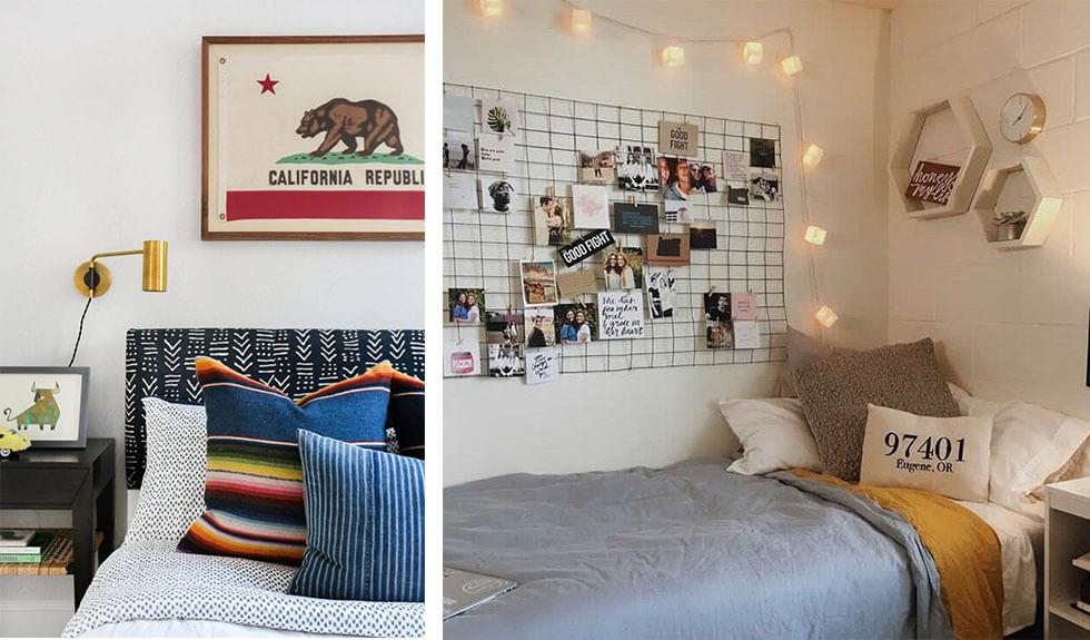 Ideas for making a teenager's bedroom feel personal