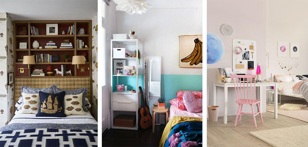 Storage ideas for a teenage bedroom