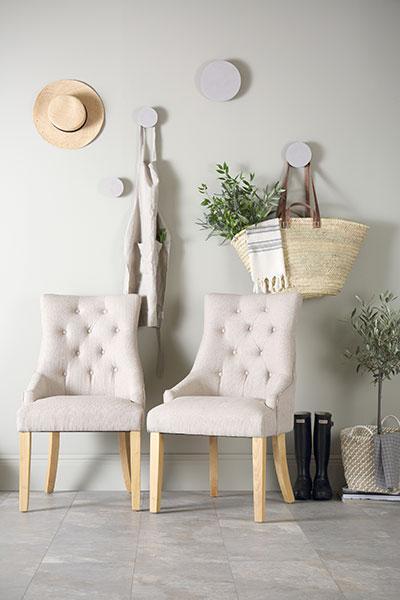 Duke dining chairs