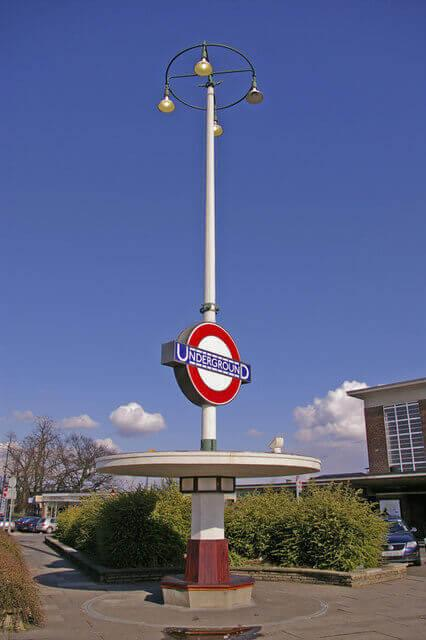 Art Deco Seat and Station Sign