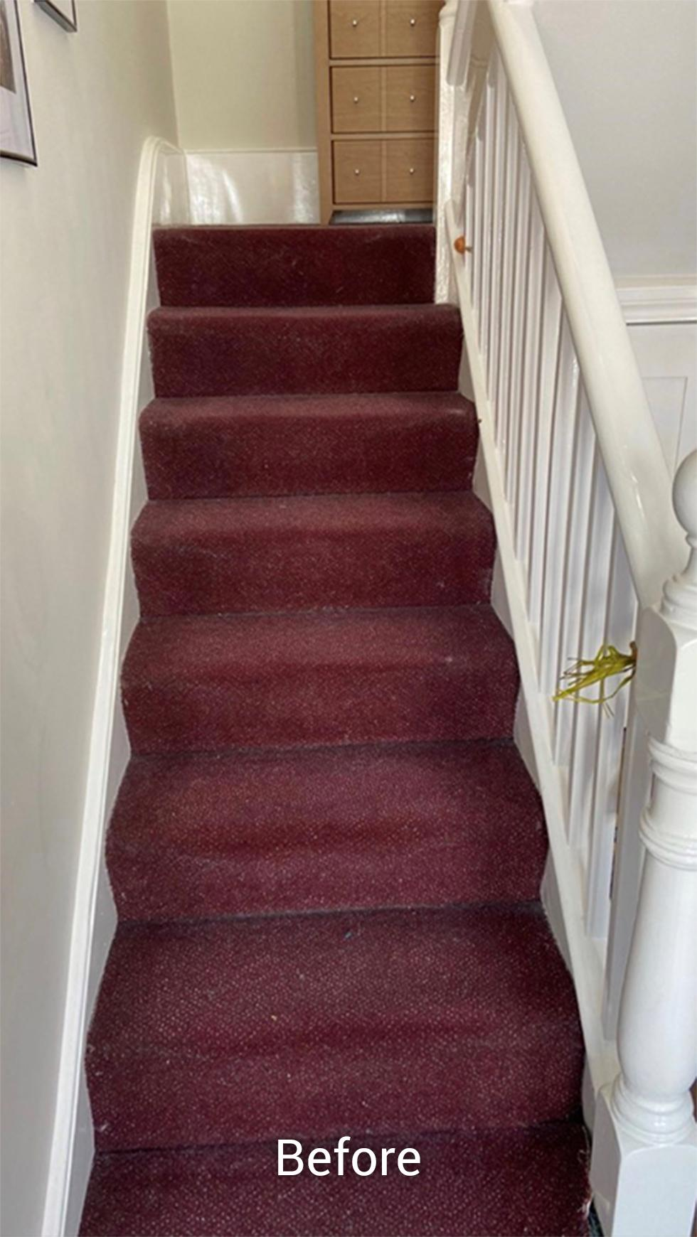 Before staircase transformation