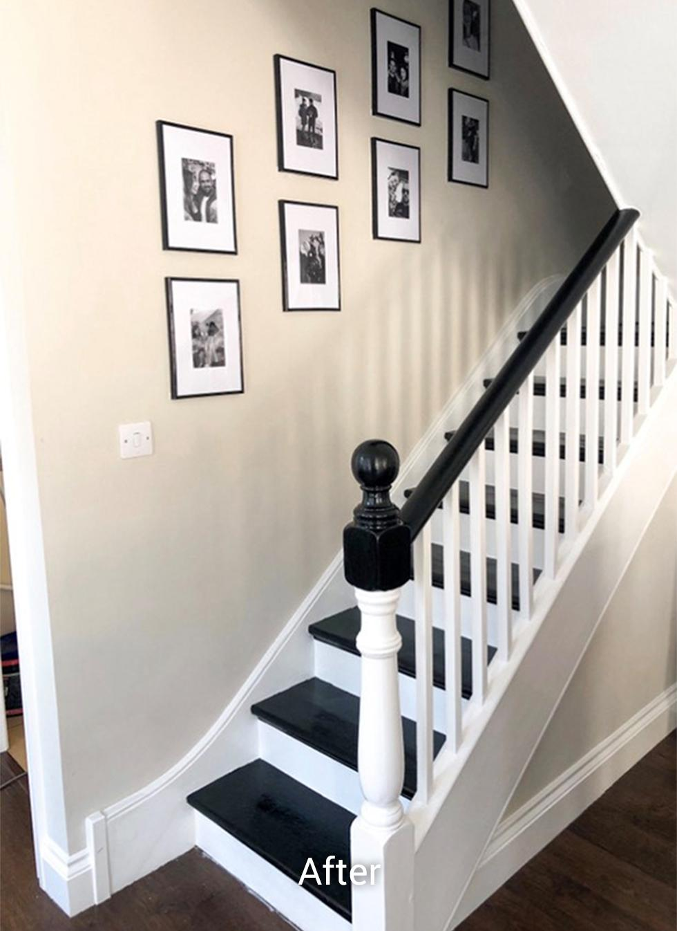 After staircase transformation