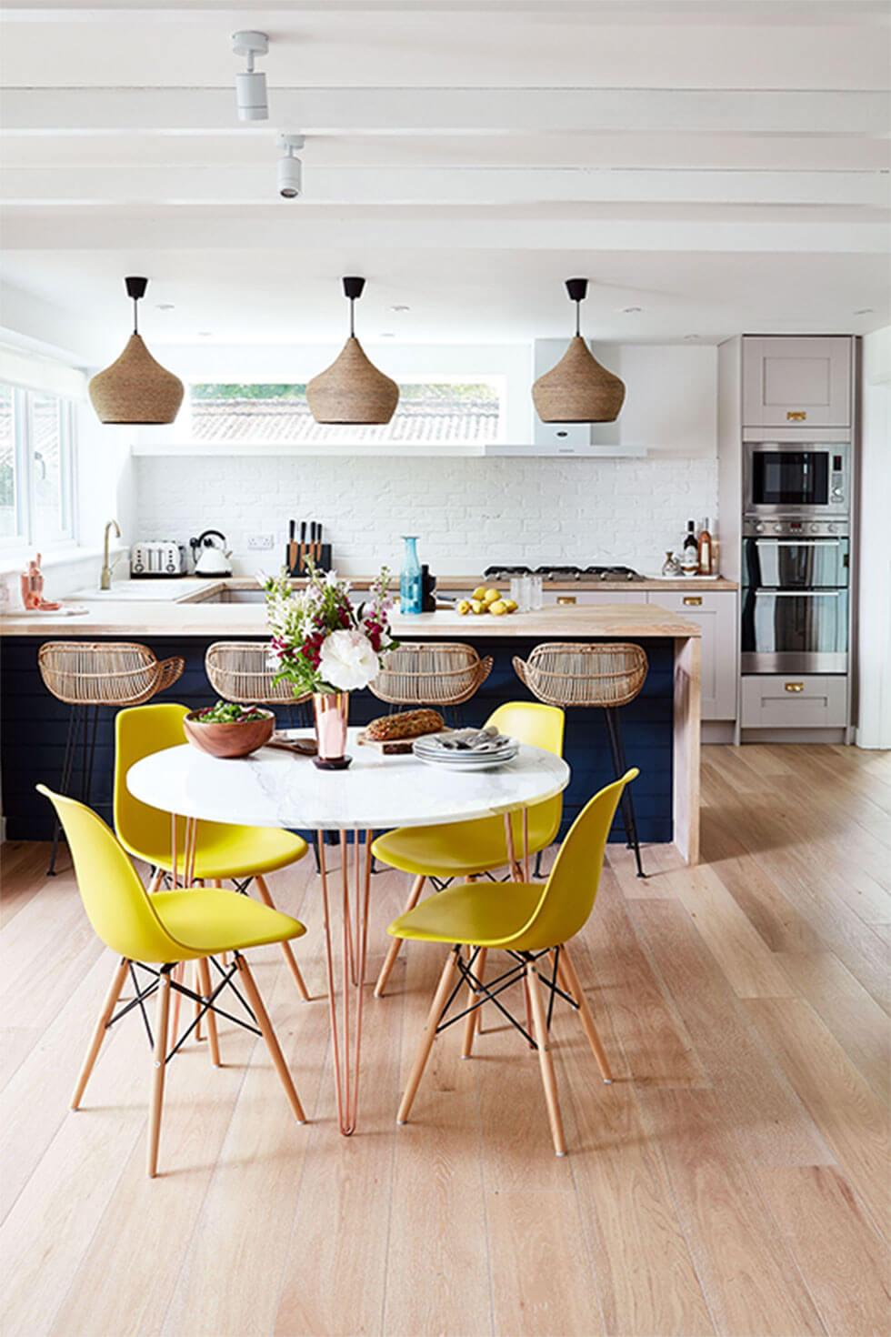 28 Clever Ideas For A Cosy Open Plan Kitchen  Furniture Choice