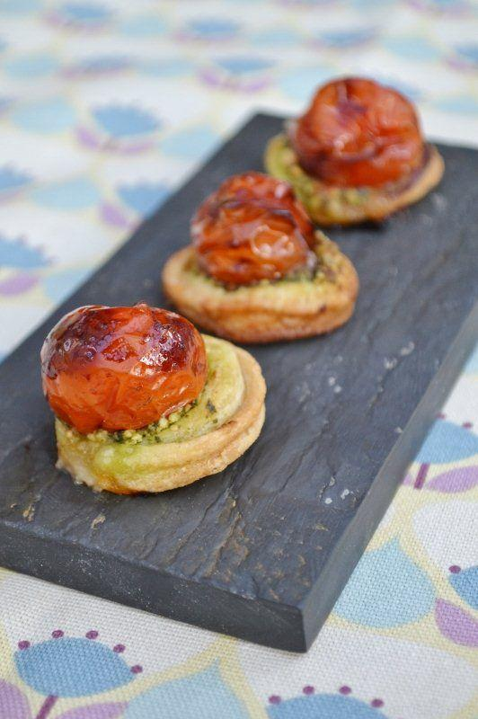 Three canapes