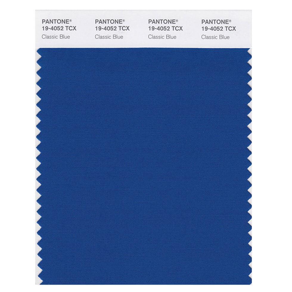 Pantone Classic Blue swatch colour