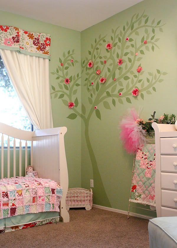 Colourful nursery.