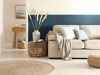 8 Cool Ideas for Blue Living Rooms (From Tranquil to Vibrant)