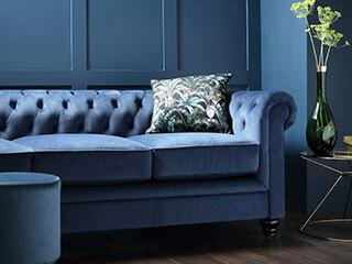 How to Style Classic Blue at Home