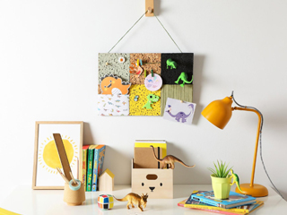 DIY: Kids Memo Board