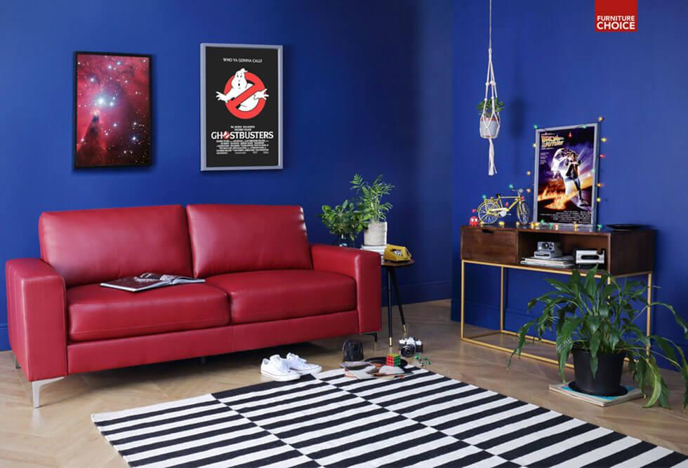Stranger Things inspired living room design by Furniture Choice