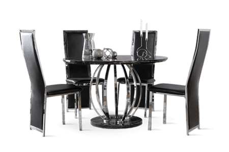 Round Table Late Delivery Policy.Dining Room Furniture Free Delivery 1 Year Warranty Furniture