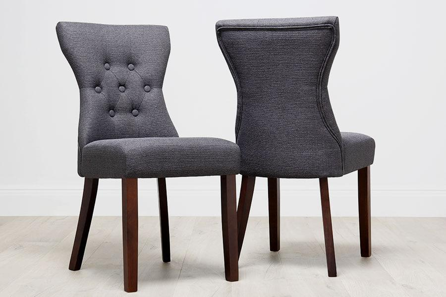 02f233e669f2 Button Back Dining Chairs | Furniture Choice