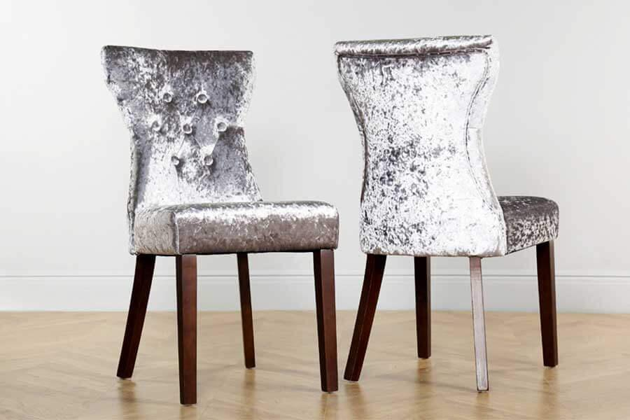 new styles ddd0b 84604 Velvet Dining Chairs & Crushed Velvet Chairs | Furniture Choice