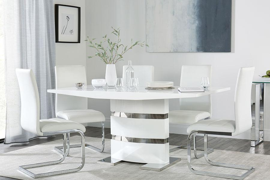 Dining Table & 6 Chairs | Furniture Choice