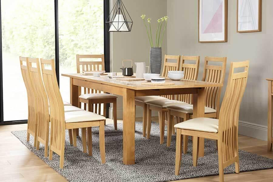 Dining Table & 8 Chairs | Furniture Choice