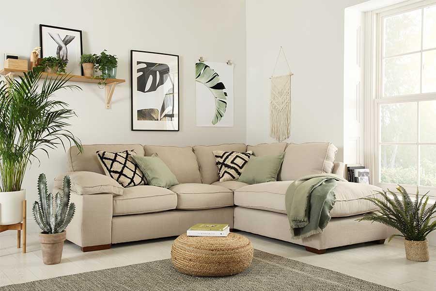 Corner Sofas | Leather & Fabric Styles | Buy Online ...