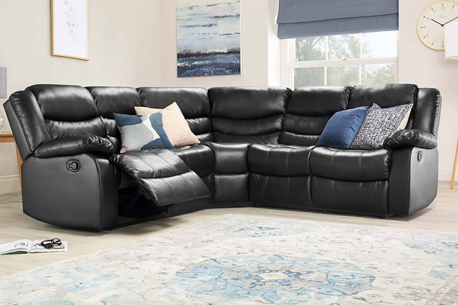 Leather Corner Sofas - Buy Leather Corner Sofas Online | Furniture ...
