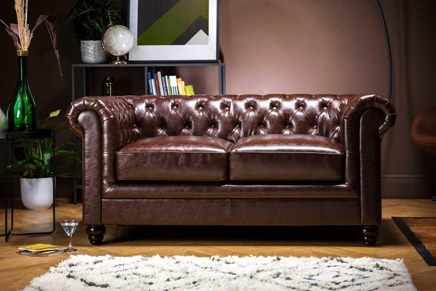 Wondrous 2 Seater Leather Sofas Small Leather Sofas Furniture Choice Download Free Architecture Designs Salvmadebymaigaardcom