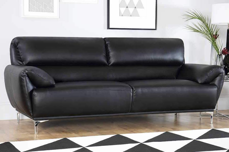 Black leather sofas cheap cabinets matttroy Www multiyork co uk living room furniture